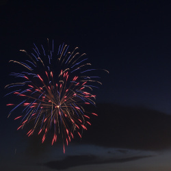 Marietta Square Fireworks - July 4, 2018